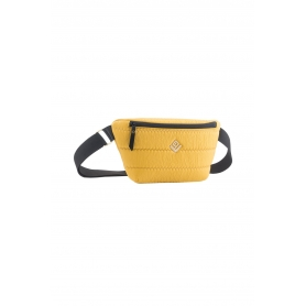 Γυναικείο Τσαντάκι Μέσης Lovely Handmade Camelia Belt Bag Phos | Yellow - 10CA-FL-19