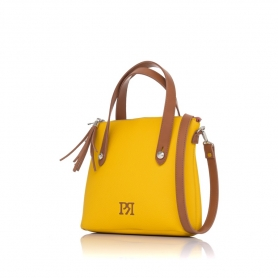 Γυναικεία τσάντα χειρός Pierro Accessories 90112DL20 Κίτρινο