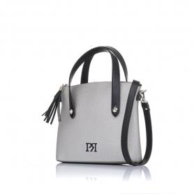 Γυναικεία τσάντα χειρός Pierro Accessories 90112DL22 Ασημί