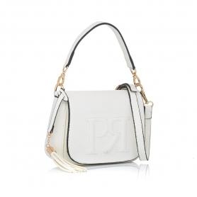 Γυναικεία τσάντα χειρός Pierro Accessories 90609DL07 Λευκό