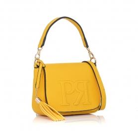 Γυναικεία τσάντα χειρός Pierro Accessories 90609DL20 Κίτρινο