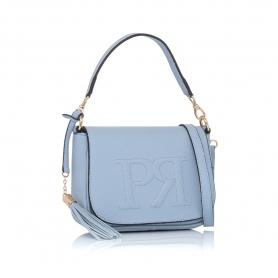 Γυναικεία τσάντα χειρός Pierro Accessories 90609DL83 Σιέλ
