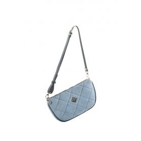 Γυναικεία Τσάντα Ώμου Lovely Handmade Nostalgia Remvi Bag   Blue Denim - 10NO-C-55