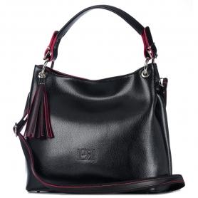Γυναικεία τσάντα ώμου Pierro Accessories 90519DL01 Μαύρο