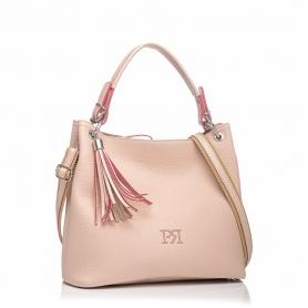 Γυναικεία τσάντα ώμου Pierro Accessories 90519DL50 Nude