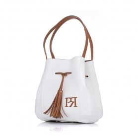 Γυναικεία τσάντα ώμου Pierro Accessories 90612DL07 Λευκό