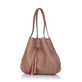 Γυναικεία τσάντα ώμου Pierro Accessories 90612DL26 Χαλκός
