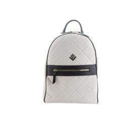 Γυναικεία Τσάντα Πλάτης Lovely Handmade Basic Remvi Backpack | Dirty White - 10BP-MC-54