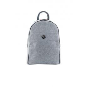 Γυναικεία Τσάντα Πλάτης Lovely Handmade Basic Simple Loose Backpack | Grey - 10BP-LO-03