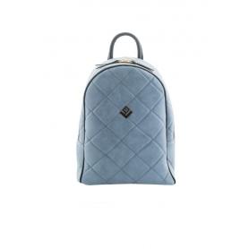 Γυναικεία Τσάντα Πλάτης Lovely Handmade Basic Simple Remvi Backpack | Blue Denim - 10BP-SC-55