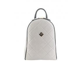 Γυναικεία Τσάντα Πλάτης Lovely Handmade Basic Simple Remvi Backpack | Dirty White - 10BP-SC-54