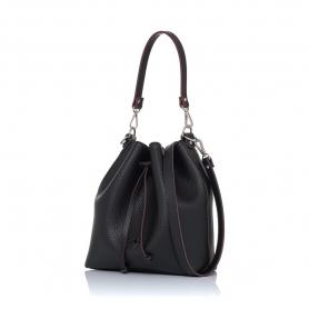 Γυναικεία τσάντα πουγκί Pierro Accessories 90400DL01 Μαύρο