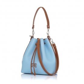 Γυναικεία τσάντα πουγκί Pierro Accessories 90400DL83 Σιέλ