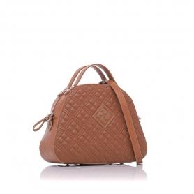 Γυναικεία καπιτονέ τσάντα ώμου - χειρός Pierro Accessories 90581KPT11 Ταμπά