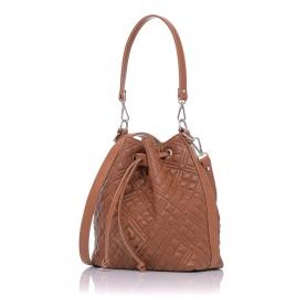 Γυναικεία καπιτονέ τσάντα πουγκί Pierro Accessories 90400KPT11 Ταμπά