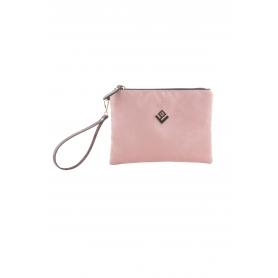 Γυναικεία τσάντα χειρός Lovely Handmade Bend Asti Suede Handbag | Puce - 10BE-SS-28
