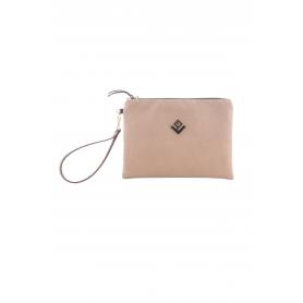 Γυναικεία τσάντα χειρός Lovely Handmade Bend Asti Suede Handbag | Taupe - 10BE-SS-07