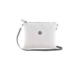 Γυναικεία Τσάντα Χειρός Lovely Handmade Luxurious Remvi Handbag | Dirty White - 10N-LXC-54