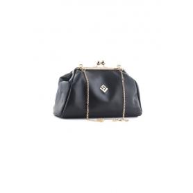 Γυναικεία Τσάντα Χειρός Lovely Handmade Marais Asti Bag | Black - 10MV-L-13