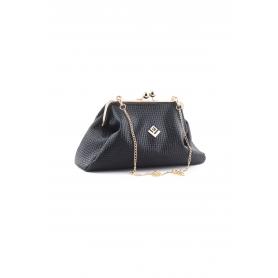 Γυναικεία Τσάντα Χειρός Lovely Handmade Marais St Asti Bag | Black - 10MV-L-13S