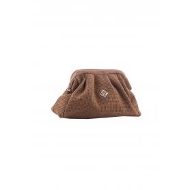 Γυναικεία Τσάντα Χειρός Lovely Handmade Paris St Asti Bag | Tabac - 10PA-L-10S