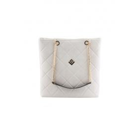 Γυναικεία Τσάντα Ώμου Dreamy Remvi Bag | Dirty White - 10SH-C-54
