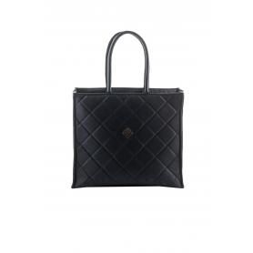 Γυναικεία τσάντα ώμου Lovely Handmade Busy Remvi Bag   Black - 10BU-C-13
