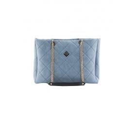 Γυναικεία Τσάντα Ώμου Lovely Handmade Morena Remvi Bag | Blue Denim - 10MOR-C-55