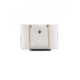 Γυναικεία Τσάντα Ώμου Lovely Handmade Morena Remvi Bag | Dirty White - 10MOR-C-54