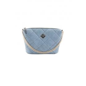 Γυναικεία Τσάντα Ώμου Lovely Handmade Remvi Bag | Blue Denim - 10X-C-55