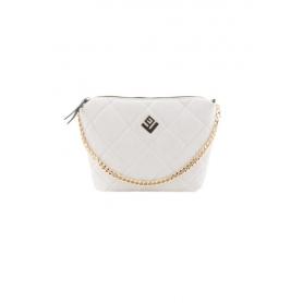 Γυναικεία Τσάντα Ώμου Lovely Handmade Remvi Bag | Dirty White - 10X-C-54
