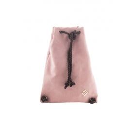 Γυναικεία Τσάντα Πλάτης Lovely Handmade Dourvas Asti Suede Backpack | Puce - 10D-SS-28