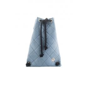 Γυναικεία Τσάντα Πλάτης Lovely Handmade Dourvas Remvi Backpack | Blue Denim - 10D-C-55