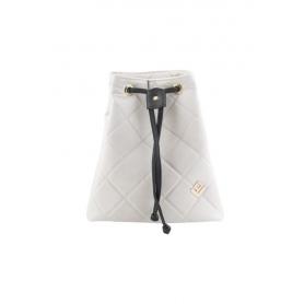 Γυναικεία Τσάντα Πλάτης Lovely Handmade Hypnotic Remvi Backpack | Dirty White - 10P-SC-54