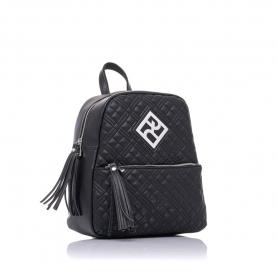 Γυναικεία τσάντα σακίδιο πλάτης Pierro Accessories 90569KPT01 μαύρο