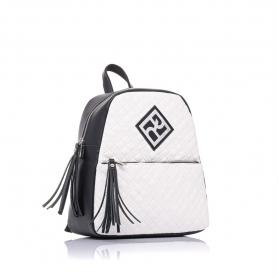 Γυναικεία τσάντα σακίδιο πλάτης Pierro Accessories 90569KPT07 Λευκό
