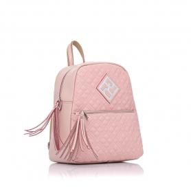 Γυναικεία τσάντα σακίδιο πλάτης Pierro Accessories 90569KPT50 Nude
