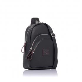 Γυναικείo σακίδιο πλάτης Pierro Accessories 90621DL01 Μαύρο