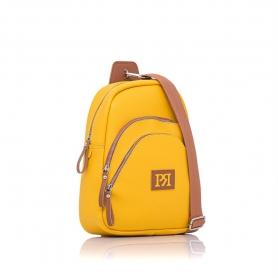 Γυναικείo σακίδιο πλάτης Pierro Accessories 90621DL20 Κίτρινο