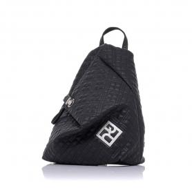 Καπιτονέ σακίδιο πλάτης Pierro Accessories 09527KPT01 Μαύρο