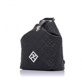 Καπιτονέ σακίδιο πλάτης Pierro Accessories 90625KPT01 Μαύρο