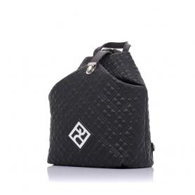 Καπιτονέ σακίδιο πλάτης Pierro Accessories 90626KPT01 Μαύρο