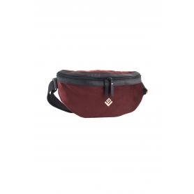 Τσαντάκι Μέσης Lovely Handmade Billy Velvet Belt Bag   Bordeaux - 11B-XVE-14