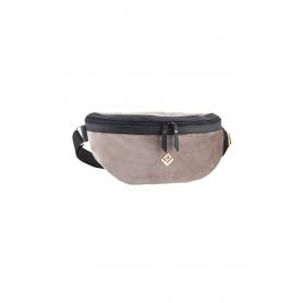 Τσαντάκι Μέσης Lovely Handmade Billy Velvet Belt Bag   Grey - 11B-XVE-03