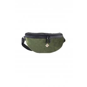 Τσαντάκι Μέσης Lovely Handmade Billy Velvet Belt Bag   Olive - 11B-XVE-30