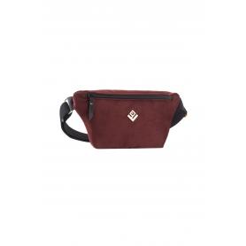 Τσαντάκι Μέσης Lovely Handmade Camelia Velvet Belt Bag   Bordeaux - 11CA-VE-14