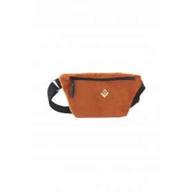 Τσαντάκι Μέσης Lovely Handmade Camelia Velvet Belt Bag   Copper - 11CA-VE-15