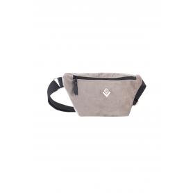 Τσαντάκι Μέσης Lovely Handmade Camelia Velvet Belt Bag   Grey - 11CA-VE-03