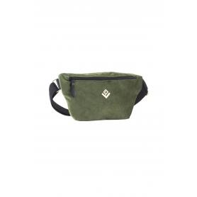 Τσαντάκι Μέσης Lovely Handmade Camelia Velvet Belt Bag   Olive - 11CA-VE-30