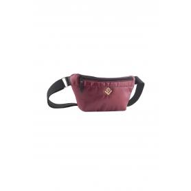 Belt Bag Lovely Handmade Camelia Phos   Bordeaux - 11CA-FL-14